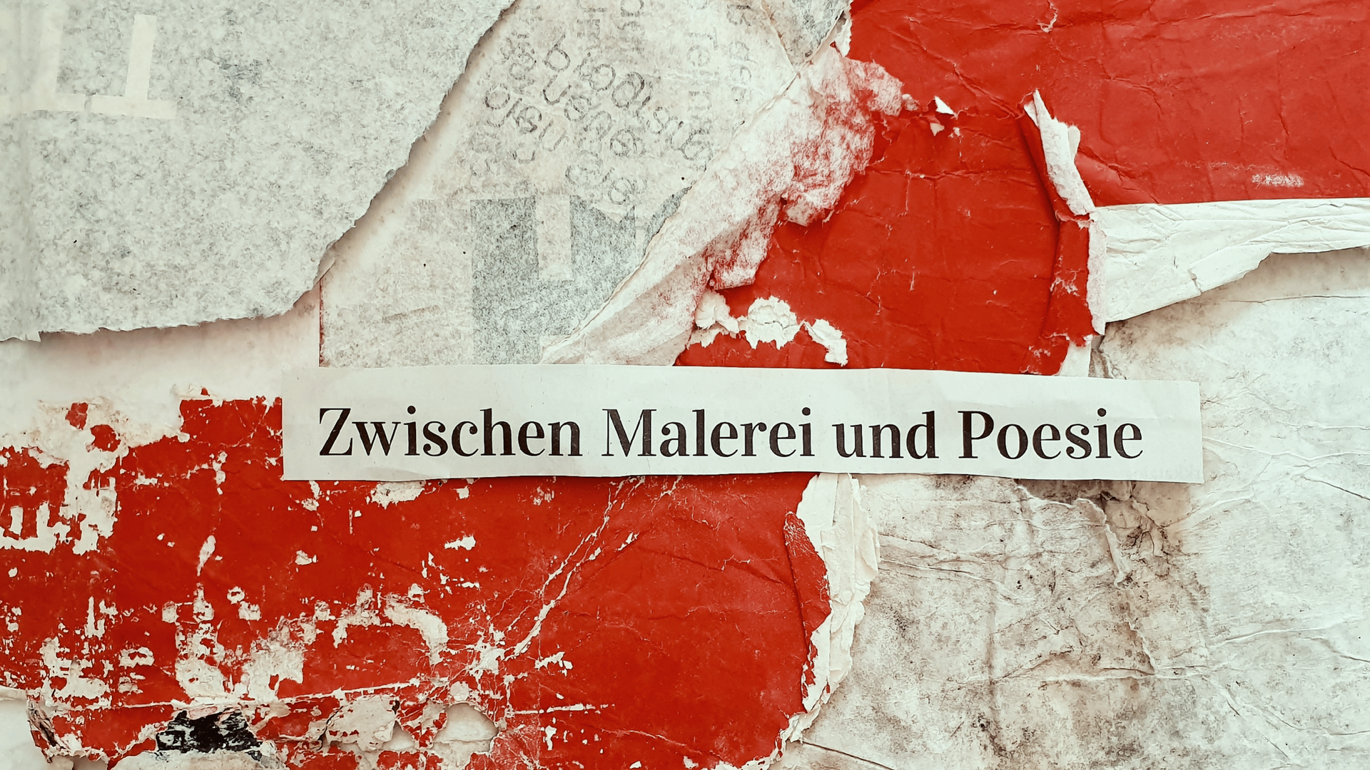 KERSTIN VERSCH - ZWISCHEN MALEREI UND POESIE !