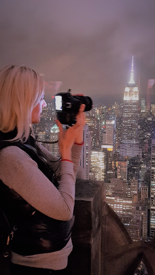KERSTIN VERSCH - TOP OF THE ROCK - NEW YORK