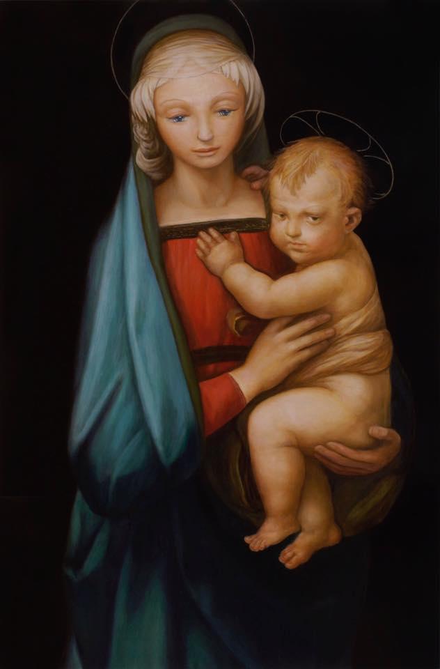 Madonna col Bambino detta Manonnadel Granduca