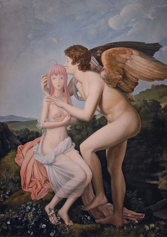 Psyché et l'Amour