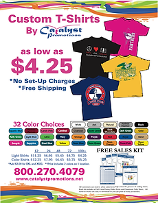 Catalyst Custom T-Shirts