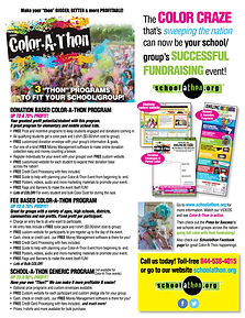 color-a-thon fundraiser