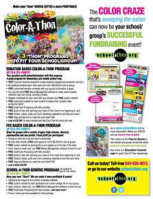 color-a-thon fundraiser