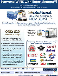 coupon card fundraiser