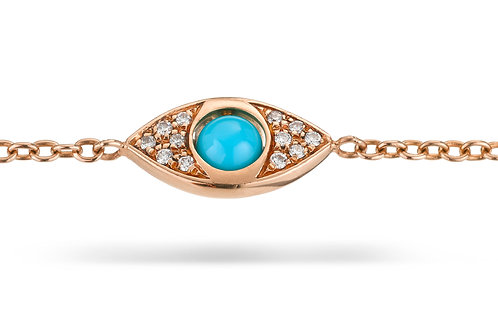 EyeBall Bracelet - Rose Gold