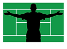 Gilad Bloom Tennis Logo