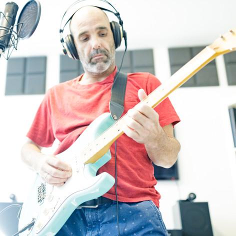 Gilad Bloom in the studio