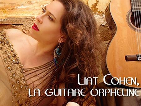 """Book bio  « LIAT COHEN, LA GUITARE ORPHELINE """""""