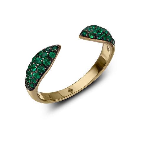 ANNA Ring Emeralds