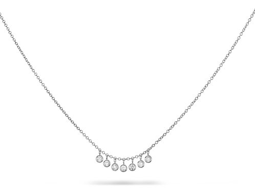ANNA Necklace White gold