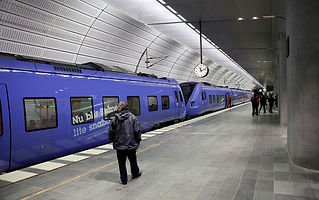 Triangeln Railway station, Malmo, Sweden