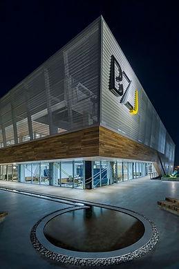 BZJ Bursa Factory - Anodised Aluminum Perforated Trapezoid Facade - Bursa_Turkey
