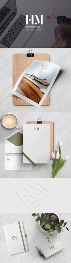 Lawyer branding package