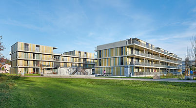 RESIDENTIAL COMPLEX AARENAU, Switzerland