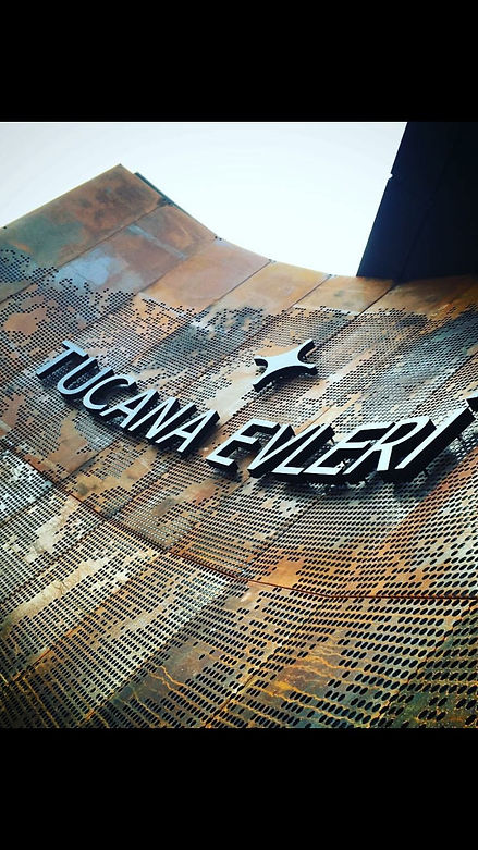 Tucana Evleri- Multiperforated Corten Facade- Bursa_Turkey