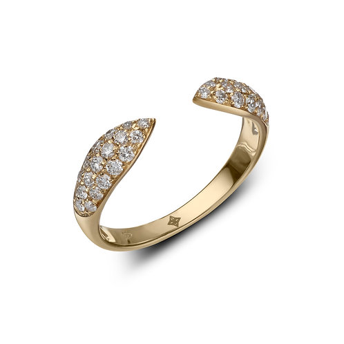 ANNA Ring White Diamonds