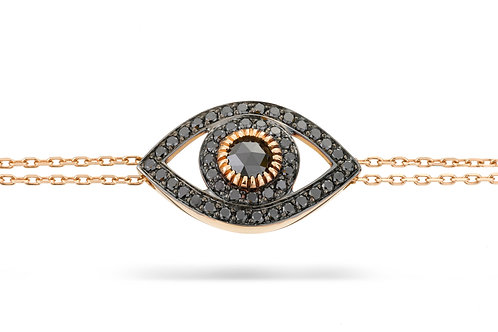 Ilanit Nissim Bracelet - Black Diamond-Limited edition Eye