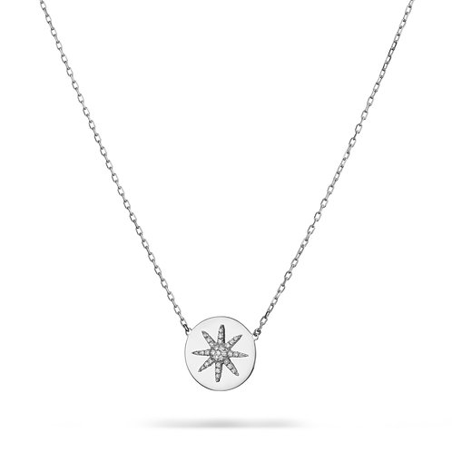 SOLE Necklace- White gold