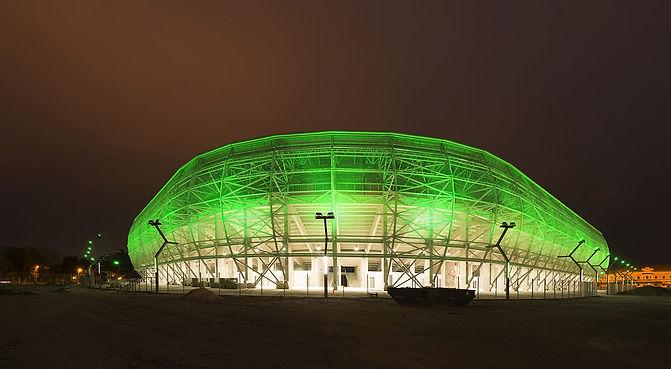 New Estadium FTC (Groupama) – Budapest (Hungary)_