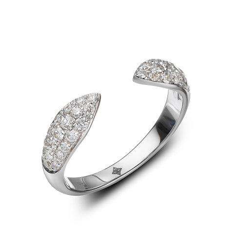 ANNA Ring White Diamonds