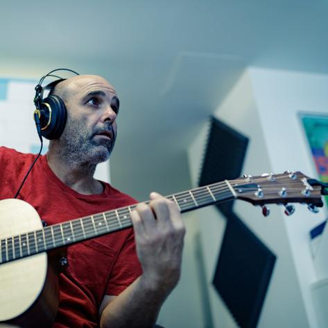 Gilad Bloom in the studio 1