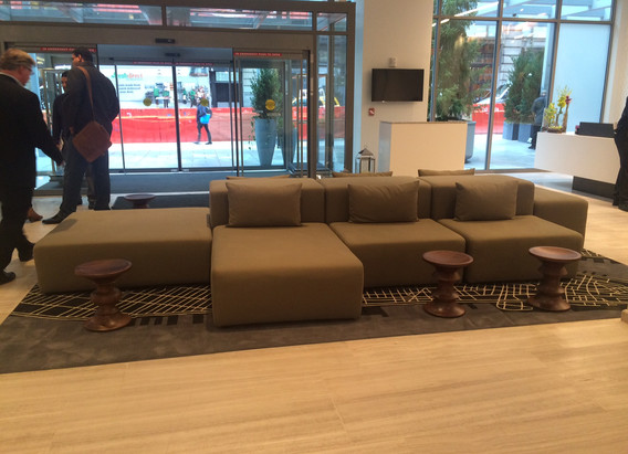 sofa by DR.SOFA for INNSIDE HOTEL