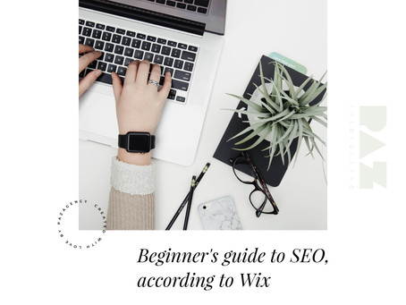 Beginner's guide to SEO, according to Wix