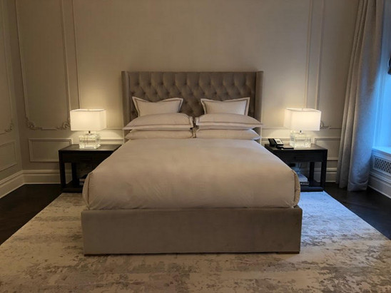 the plaza - bed design