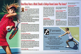 New York Tennis Magazine July - August 2