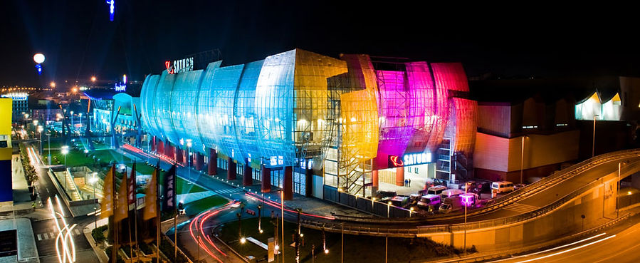 Forum Istanbul Mall -Expanded Mesh Facade- Istanbul_Turkey