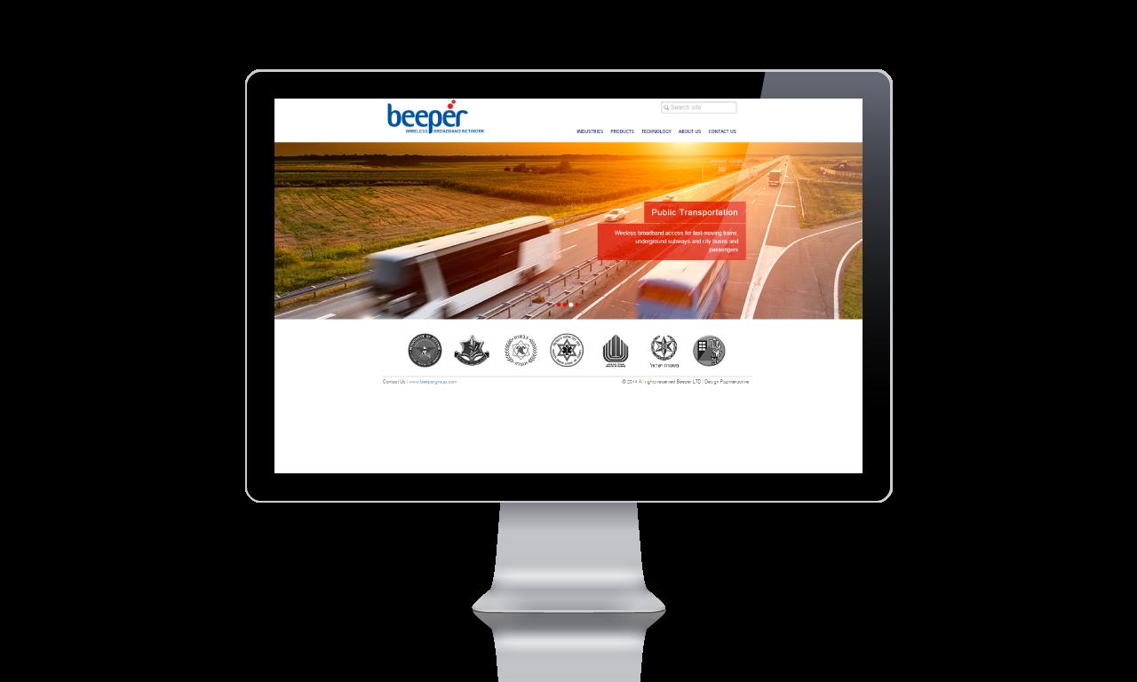 הדמיה עיצוב אתר, ביפר