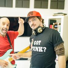 Gilad Bloom & Tom Moshiach in the studio 3