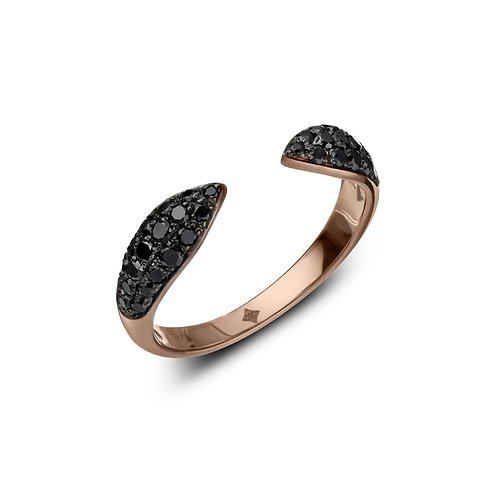 ANNA Ring Black Diamonds
