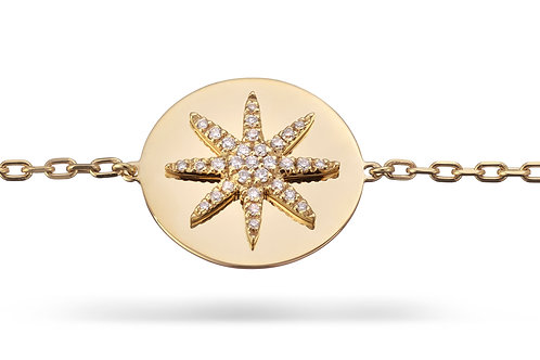 SOLE Bracelet Yellow gold