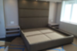 Upholsterd bed