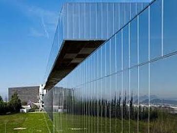 Yapı Kredi Banking Base - Mirror Finished Stainless Steel Facade _ Expanded Mesh Ceiling - Kocaeli_Turkey