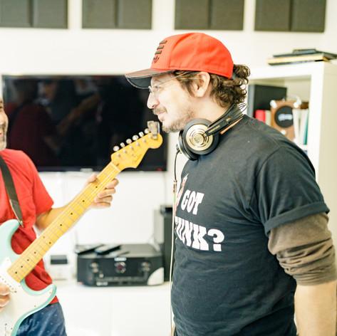 Gilad Bloom & Tom Moshiach in the studio 1