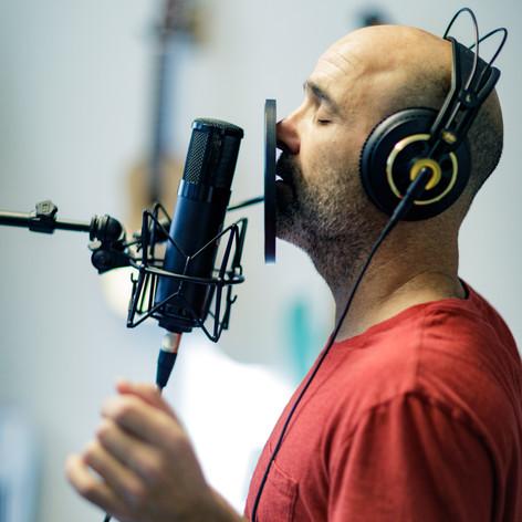 Gilad Bloom in the studio 2