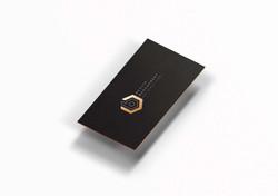 הדמיית עיצוב כרטיסי ביקור, בצור
