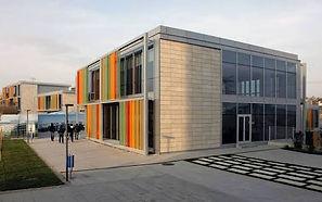 Özyeğin Üniversitesi - Tapezoid Form Perforated Aluminium SunLouvre System