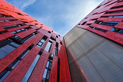 Centre Culturel Kremlin Bicetre - Powder Coated Multiperforated Aluminum Facade- France