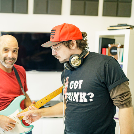 Gilad Bloom & Tom Moshiach in the studio 2