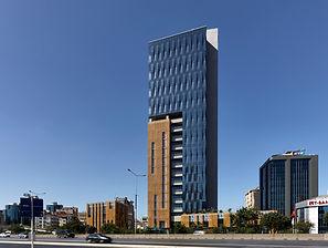 Mermerler Plaza - Powder Coated Aluminum Perforated Facade - Istanbul_Turkey