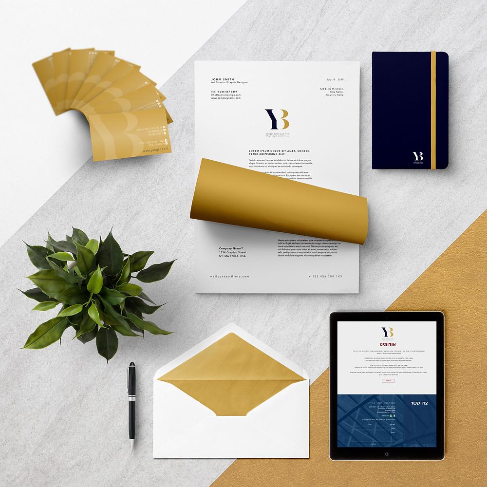 עיצוב שפה לעורך דין