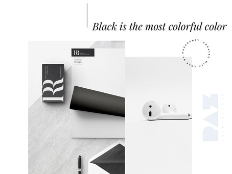 Black is the most colorful color