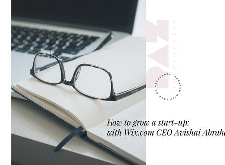 How to grow a start-up: with Wix.com CEO Avishai Abrahami