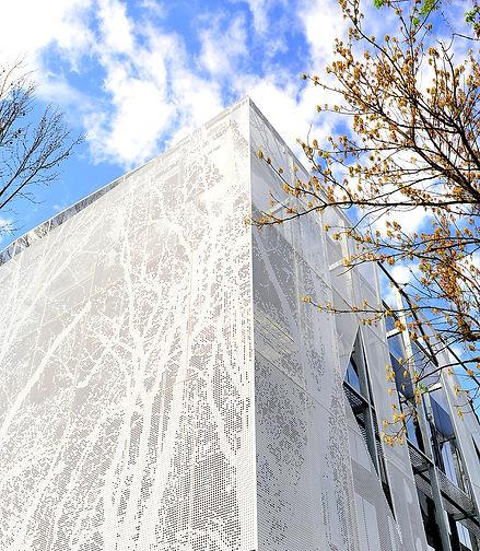 Bağ Pastanesi - Powder Coated Aluminum Multiperforated Facade - Istanbul_Turkey