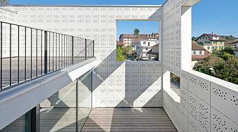 PATIO BUILDING PROJECT, RHEINFELDEN, Switzerland