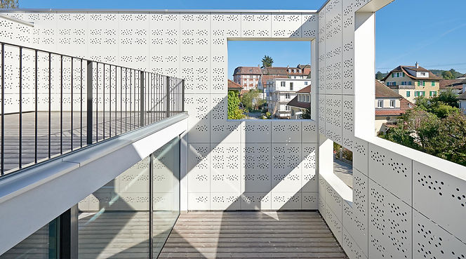 PATIO BUILDING PROJECT, RHEINFELDEN, Switzerland