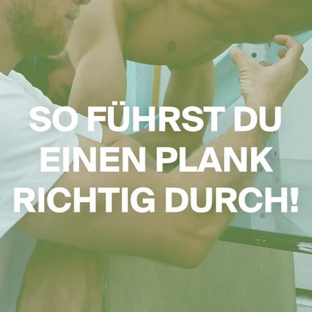So führst du einen Plank richtig durch